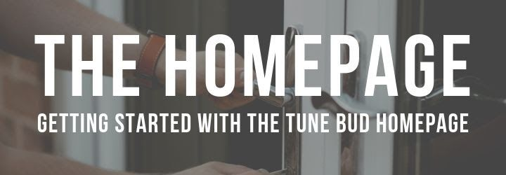 The Tune Bud Home Page