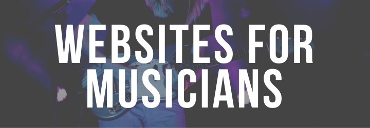 Professional Websites For Musicians